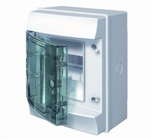 Изображение ABB Mistral65 бокс навесной 4М прозрачная дверь (без клемм)