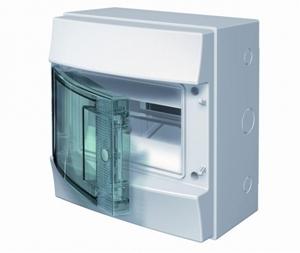Изображение ABB Mistral65 бокс навесной 8М прозрачная дверь (без клемм)