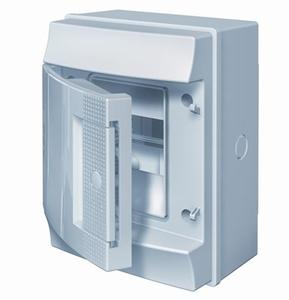 Изображение ABB Mistral65 бокс навесной 4М непрозрачная дверь (без клемм)
