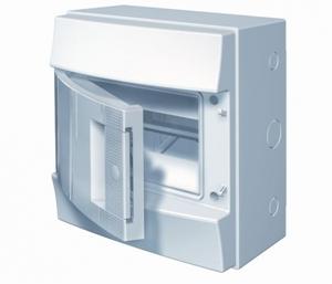 Изображение ABB Mistral65 бокс навесной 8М непрозрачная дверь (без клемм)