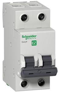 Изображение EASY 9 Автоматический выключатель 2P 63A (C)