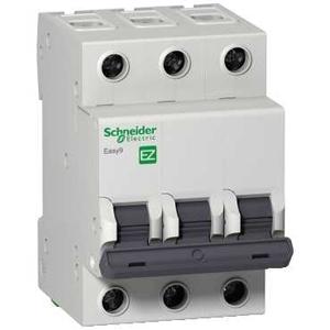 Изображение EASY 9 Автоматический выключатель 3P 6A (C)