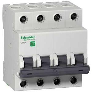Изображение EASY 9 Автоматический выключатель 4P 63A (C)