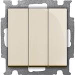 Изображение ABB BJB Basic 55 Беж Выключатель 3-клавишный, 16А