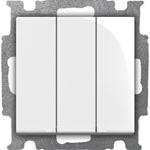 Изображение ABB BJB Basic 55 Бел Выключатель 3-клавишный, 16А