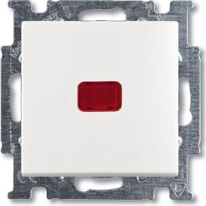 Изображение ABB BJB Basic 55 Бел Переключатель 1-клавишный с подсветкой и N-клеммой