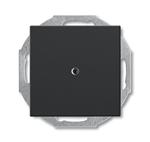 Изображение ABB BJB Basic 55 Шато (чёрн) Заглушка с суппортом