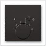 Изображение ABB BJB Basic 55 Шато (чёрн) Накладка для терморегулятора (мех. 1095 U, 1095 UF-507, 1096 U)