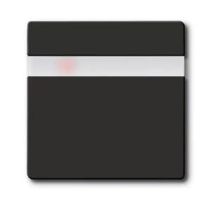 Изображение ABB BJB Basic 55 Шато (чёрн) Накладка - сенсор выключателя Комфорт 6815U,6816U