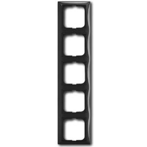 Изображение ABB BJB Basic 55 Шато (чёрн) Рамка 5-ая