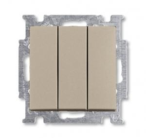 Изображение ABB BJB Basic 55 Шамп Выключатель 3-клавишный, 16А