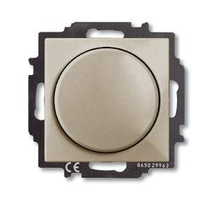 Изображение ABB BJB Basic 55 Шамп Светорегулятор поворотно-нажимной 60-400 Вт для л/н