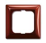 Изображение ABB BJB Basic 55 Фойе (красный) Рамка 1-ая