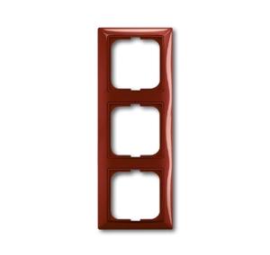 Изображение ABB BJB Basic 55 Фойе (красный) Рамка 3-ая