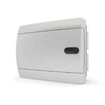 Изображение CVN 40-08-1 Щит встраиваемый 8 мод. IP40 непрозрачная белая  дверца Tekfor