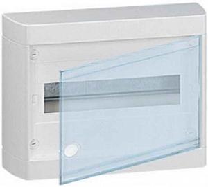 Изображение Legrand Nedbox Шкаф навесной 1х8М прозрачная дверь