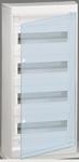 Изображение Legrand Nedbox Шкаф навесной 4х12М прозрачная дверь
