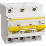 Изображение IEK Автоматический выключатель ВА 47-100 3Р 100А 10 кА х-ка С