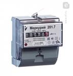 Изображение Счетчик электроэнергии однофазный однотарифный Меркурий 201.7 60/5 Т1 D 230В ОУ (201.7)