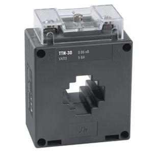 Изображение IEK Трансформатор тока ТТИ-30 250/5А 5ВА класс 0,5