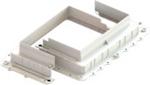 Изображение CRF748 Универсальная коробка под заливку для люков на 4 и 8 модулей, JSL