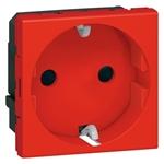 Изображение PAM-02 Розетка 2к+3, красная JSL