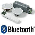"""Изображение 50502 KBSound ISelect 2,5"""" Встраиваемое Радио С Bluetooth Комплект: Радио+Пульт+2 Колонки 2,5"""" Белые"""
