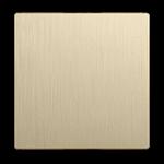 Изображение Клавиша для выключателя перекрестного (шампань рифленый)
