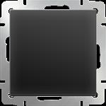 Изображение Выключатель одноклавишный  (черный матовый)