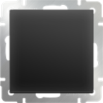 Изображение Выключатель одноклавишный проходной (черный матовый)