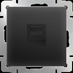Изображение Розетка Ethernet RJ-45 (черный матовый)