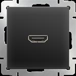Изображение Розетка HDMI (черный матовый)