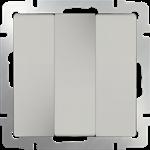 Изображение Выключатель трехклавишный (слоновая кость)