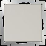 Изображение Выключатель одноклавишный проходной (слоновая кость)