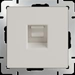 Изображение Розетка Ethernet RJ-45  (слоновая кость)