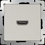 Изображение Розетка HDMI (слоновая кость)