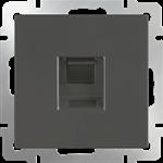 Изображение Розетка Ethernet RJ-45 (серо-коричневый)