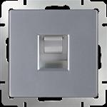 Изображение Розетка Ethernet RJ-45 (серебряный)