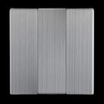 Изображение Набор клавиш для выключателя трехклавишного (глянцевый никель)