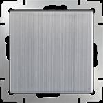 Изображение Перекрестный переключатель одноклавишный  (глянцевый никель)