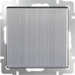 Изображение Выключатель одноклавишный (глянцевый никель)