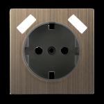Изображение Накладка для USB розетки (бронзовый)