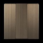 Изображение Набор клавиш для выключателя трехклавишного (бронзовый)