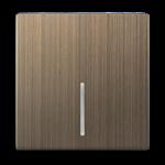 Изображение Клавиша для выключателя c подсветкой (бронзовый)