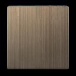 Изображение Клавиша для выключателя одноклавишного (бронзовый)