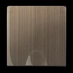 Изображение Накладка для розетки IP44 с крышкой (бронзовый)