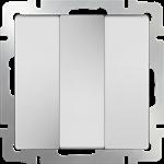 Изображение Выключатель трехклавишный (белый)