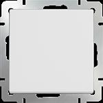 Изображение Выключатель одноклавишный проходной (белый)