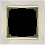 Изображение Рамка на 1 пост (слоновая кость/золото)
