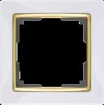 Изображение Рамка на 1 пост (белый/золото)